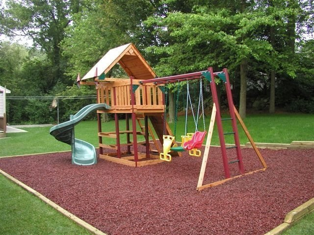 Maryland Rubber Mulch Is Perfect For Landscaping Or Playgrounds