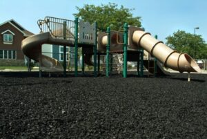 Black-Playground-Rubber-Mulch