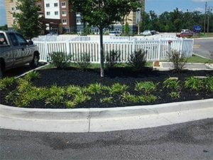 commercial landscape rubber mulch