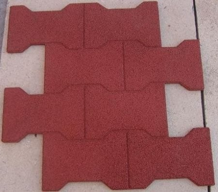 Rubber Dog Bone Barn Pavers Perfect Rubber Mulch