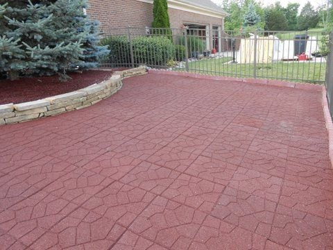 Best rubber paver tiles indoor outdoor rubber pavers for Tile driveway