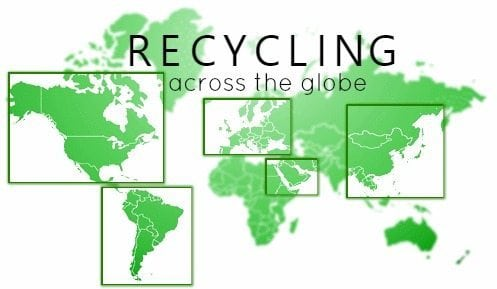 How Does US Recycling Compare To The Rest Of The World - Map of locations available to recycle in the us