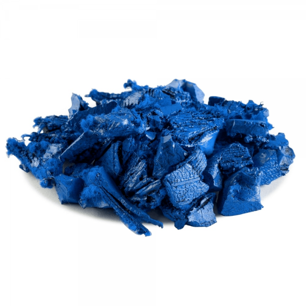 Blue Rubber Mulch