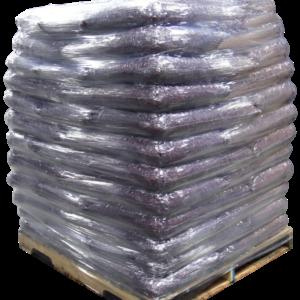 Rubber mulch retail sacks, Pallet